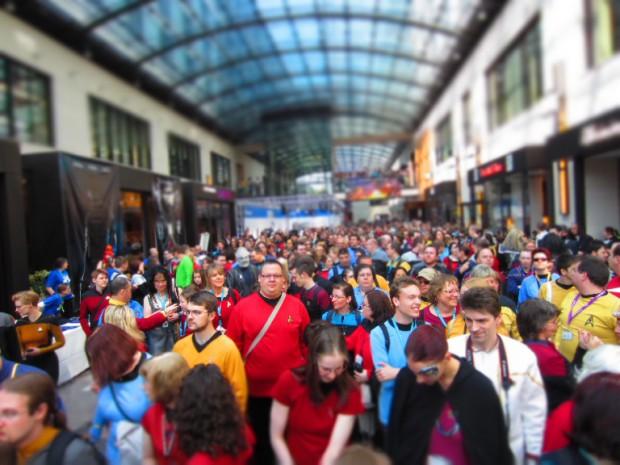 691 Star Trek Fans bereiten sich auf den Weltrekordversuch vor